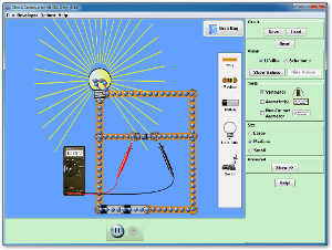 Circuit Construction Kit (DC Only) Screenshot