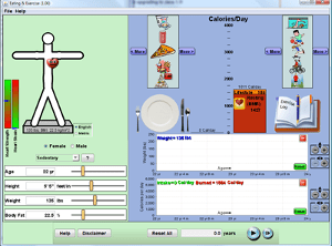 PhET Lab: Food Energy & Exercise