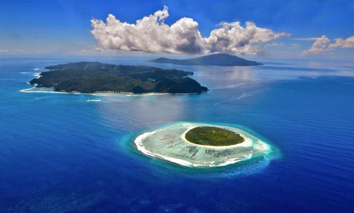 Sarangani Islands of the municipality of Sarangani, Davao Occiddental includes the island of Olanivan (closest)