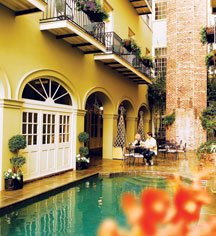 Bienville House New Orleans La Historic Hotels Of America