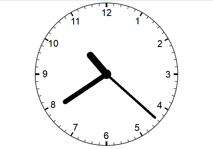 Responsive Analog Clock with CSS3 and JavaScript – front-end fu