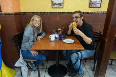 Schon wieder essen: Guagua und Colada Morada zur Feier des Día de los Difuntos