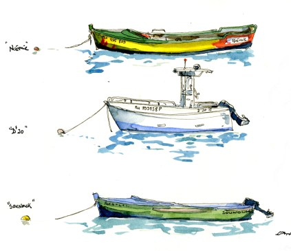 Fisherman's boats