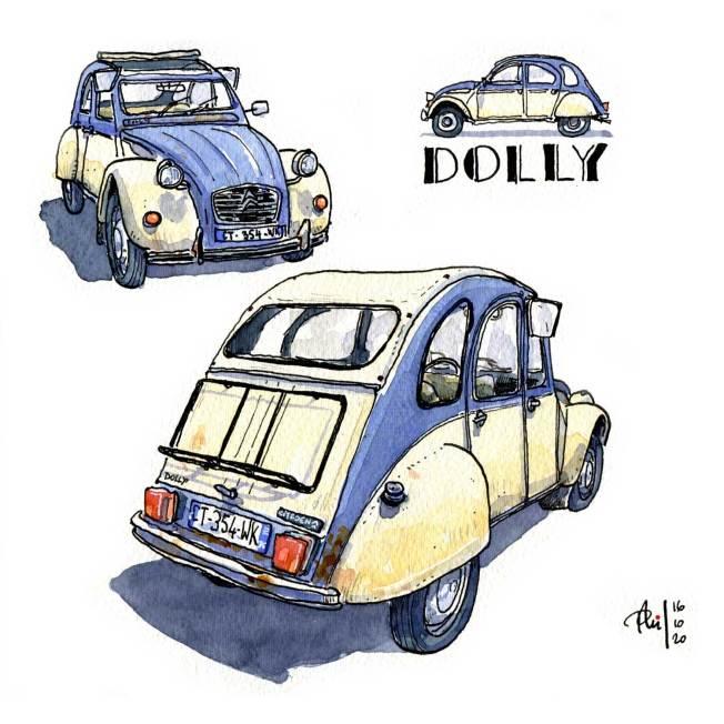 2CV Dolly