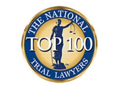 Top Philadelphia Trial Lawyer Badge for Criminal Defense Attorney and Personal Injury Lawyer