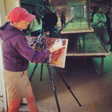 http://philadelphia-artist.com/maine-artist-paints-poultry-fair/ Erin McGee Ferrell