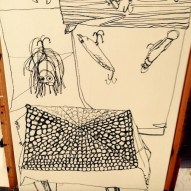 Erin McGee FerrellFishing Lure Painting. Portland, Maine Artist