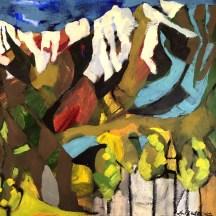 Erin McGee Ferrell. Telluride Plein Air Painting. Colorado. www.Philadelphia-Artist.com