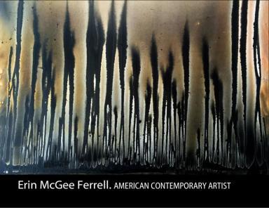 Erin McGee Ferrell. Contemporary American Artist. Book 2014-2017
