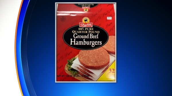USDA Warning Consumers Not To Eat ShopRite Frozen Burgers Over Possible E. Coli Contamination