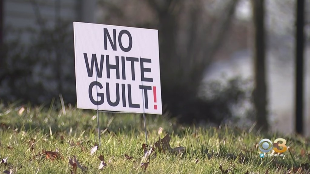 No White Guilt' Signs Causing Big Uproar