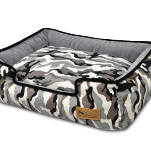 Camouflage Lounge Bed White