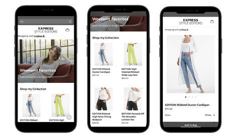 Expressive Styling Communities – Express Community Commerce Lets Users Style & Earn Commission (TrendHunter.com)
