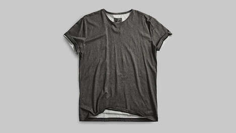 Pollution-Absorbing T-Shirts – Vollebak's Black Algae T-Shirt Captures CO2 from the Environment (TrendHunter.com)