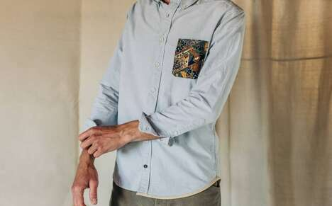 Upcycled Menswear Collabs – Taylor Stitch's 'Reenvisioned Essentials' Upcycles Surplus Stock (TrendHunter.com)