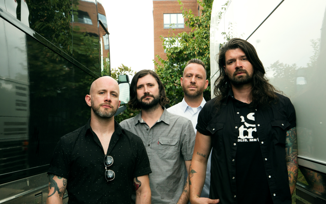 Emo rock band Taking Back Sunday