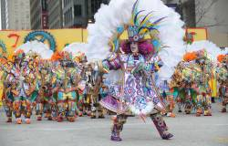 Mummers on Broad Street