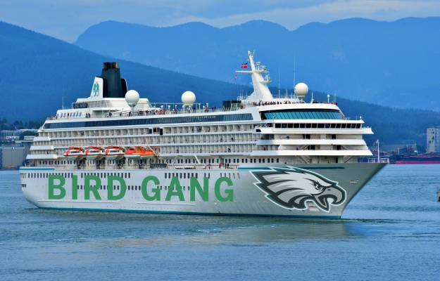 Eagles booze cruise