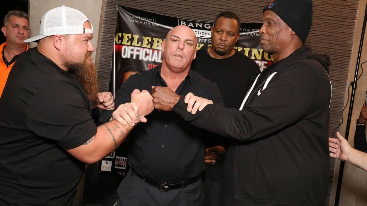 Celebrity boxing promoter Damon Feldman