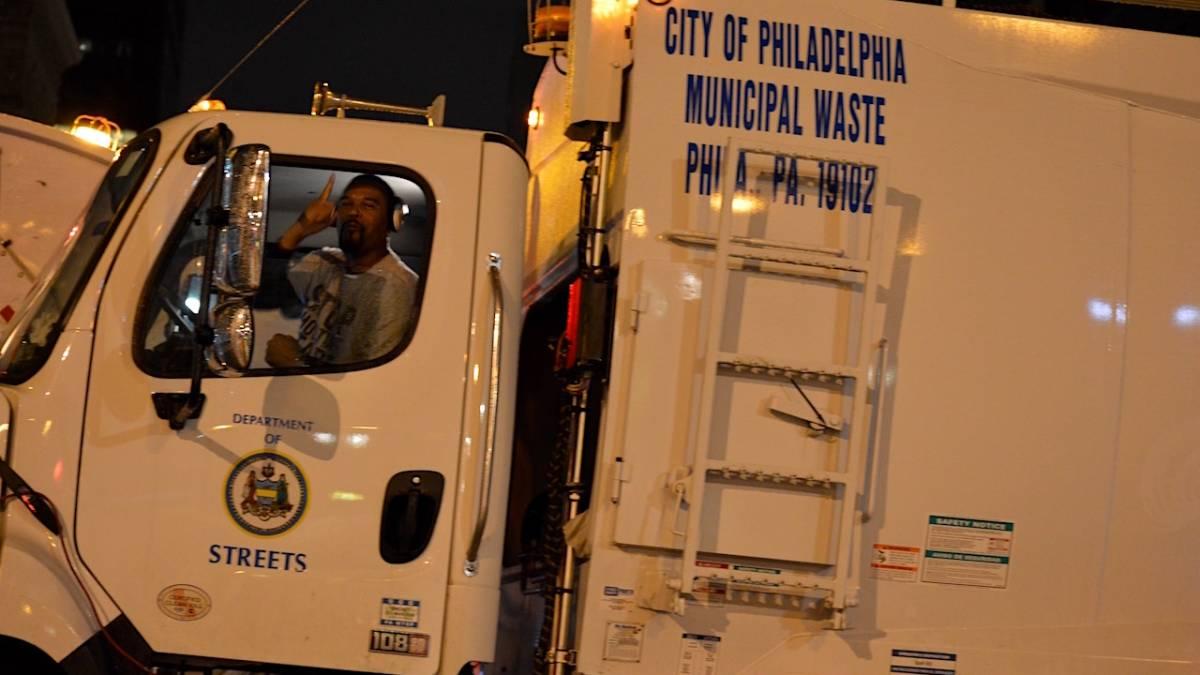 Philadelphia Sanitation worker