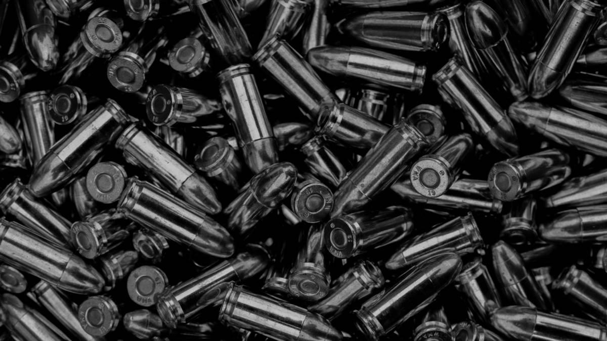 Barrage of bullets