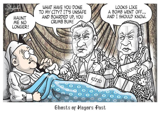 Mayor cartoon