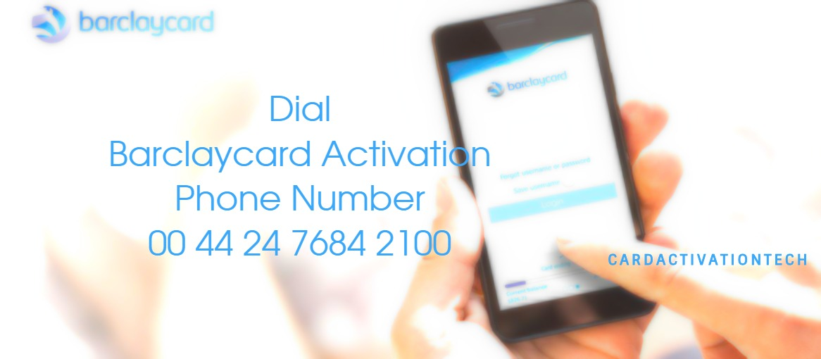 Activate Barclaycard phone number