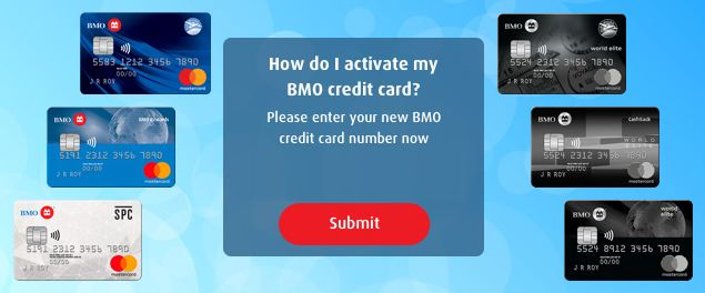 bmo card activation