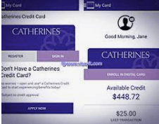 Catherines Credit Card Payment