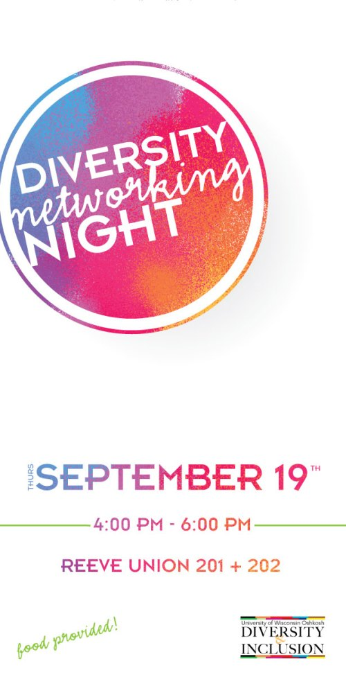 Diversity Networking Night Concept