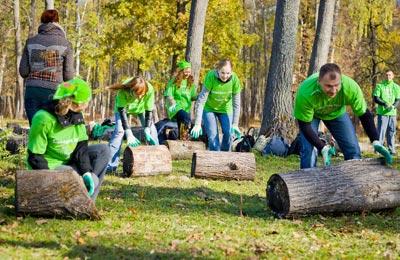 На этот раз в Неделе волонтерства приняли участие 400 сотрудников Крафт Фудс Рус