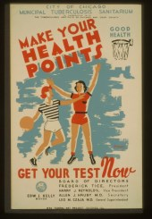Make your health points_TB Poster