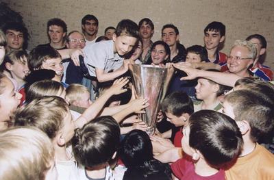 Праздник футбола в Пансионе семейного воспитания в Кунцево