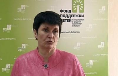 Марина Гордеева. Кадр Первого канала
