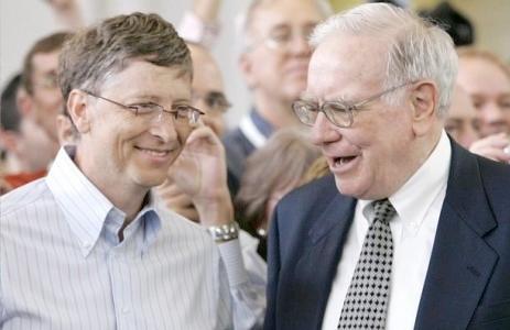 Гейтс и Баффет
