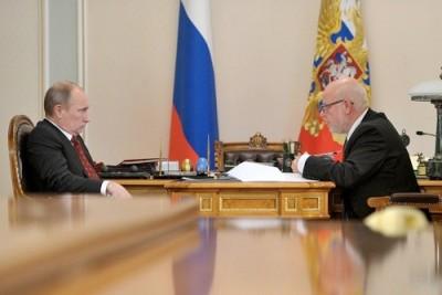 Встреча Владимира Путина и Михаила Федотова 1 ноября