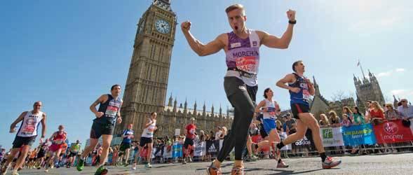 Лондонский марафон побил рекорд Гиннесса по сборам на благотворительность