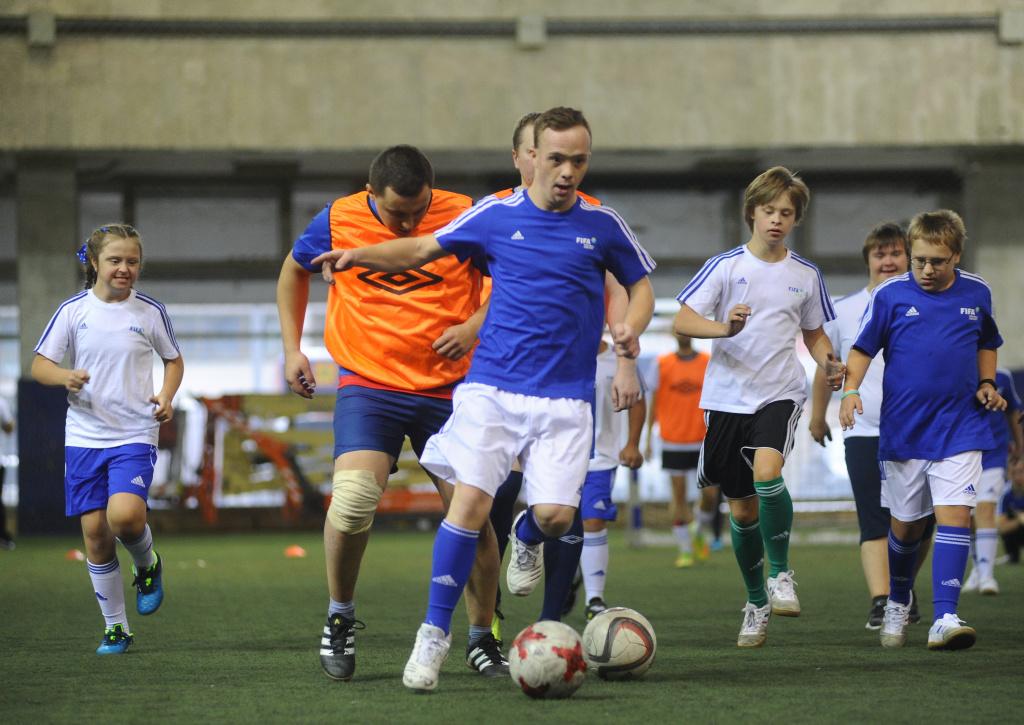 Впервые в России: 13-14 ноября пройдут  Московские открытые соревнования по мини-футболу  среди команд людей с синдромом Дауна