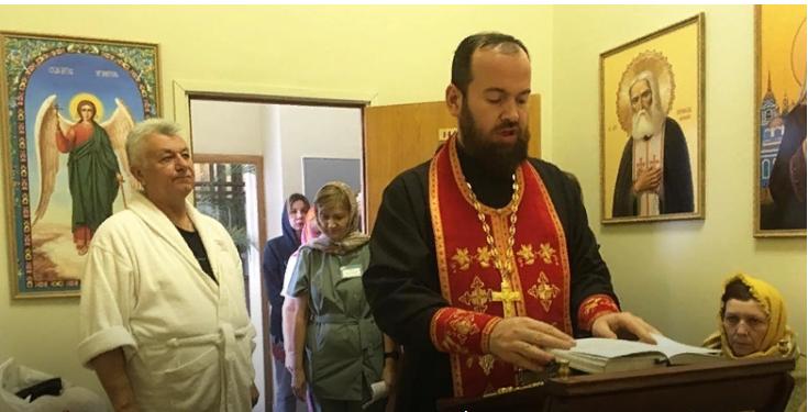 Ковчег с мощами святых передан в дар Клинической больнице МЕДСИ на Пятницком шоссе