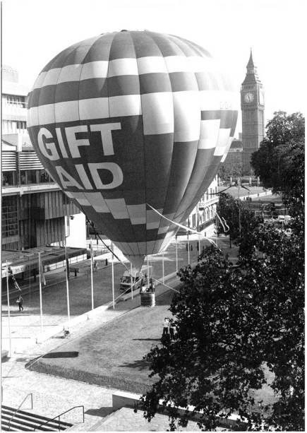 Запуск Gift Aid в Великобритании. Фото с сайта https://fundraising.co.uk