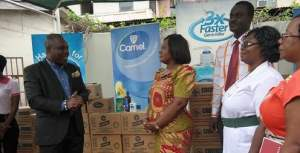 pz donates to health service of ghana