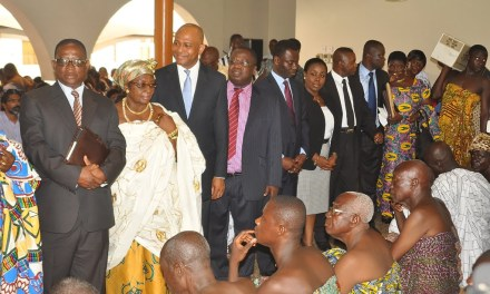 GCB supports Otumfuo's 15th anniversary celebration