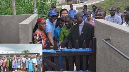 Guinness Ghana donates water, sanitation facility to Akropong School for the Blind