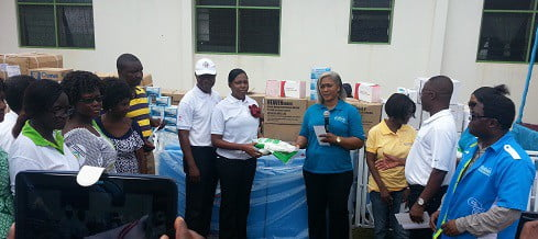 Ecobank Ghana gives GH¢420,000 to hospitals and health centres to fight malaria, Ebola