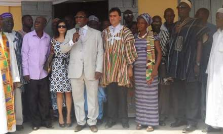 Melcom Care Foundation builds school block for St. Peter & Paul Primary School