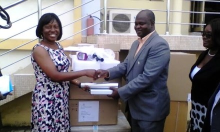 Ghana Health Service receives electrosurgical equipment from WHO