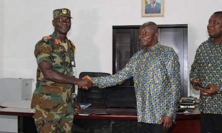 GCB gives office furniture worth $8,830 to Armed Forces Northern Command