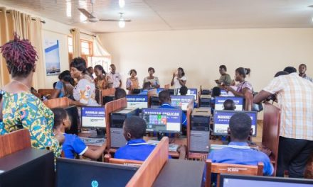 Karpowership furnishes ICT lab for Manhean Anglican JHS