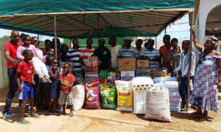 UGBS MBA Class of 2015 gives to Teshie orphanage