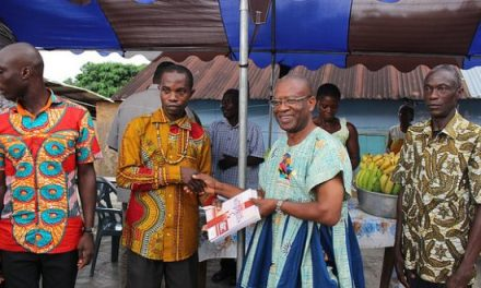 Rotary Club Accra Spintex donates to two Volta communities